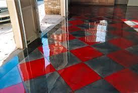 Epoxy Kitchen Floor by Epoxy Garage Floors Process