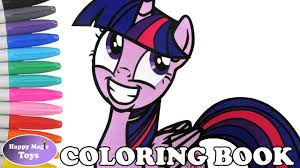 mlp twilight sparkle coloring book my little pony coloring page