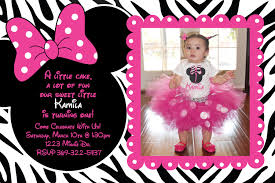 minnie mouse thank you cards minnie mouse zebra birthday party custom invitation or thank you
