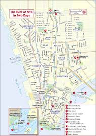 Nyc Metro Map Pdf by Street Map New York City Printable New York Map