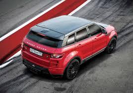 range rover modified red larte design range rover evoque modified autos world blog