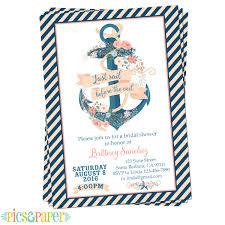 nautical bridal shower invitations nautical bridal shower invitations nautical bridal shower