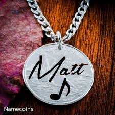 name necklace personalized jewelry images Your name necklace with music note personalized jewelry hand cut jpg