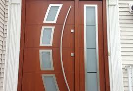 door modern cost of new double glazed front door formidable