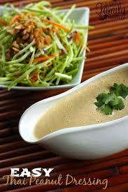easy creamy thai peanut dressing favorite family recipes