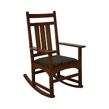Mission Oak Rocking Chair Stickley Mission Oak Harvey Ellis Rocker U0026 Inlay Chairish