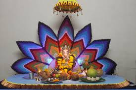 simple decoration for ganesh festival worlddaily