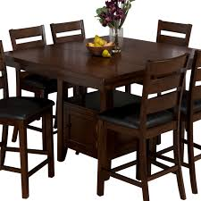 counter height table with butterfly leaf enchanting dining table idea including jofran 337 54 taylor