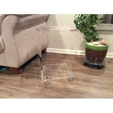 Acrylic Accent Table Acrylic C Table Home Design Ideas And Pictures