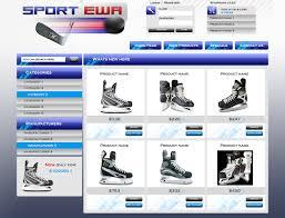 web shop design sportewa webshop design by levick on deviantart