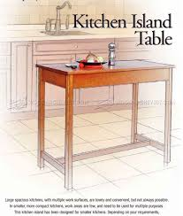 kitchen furniture plans kitchen island table plans woodarchivist
