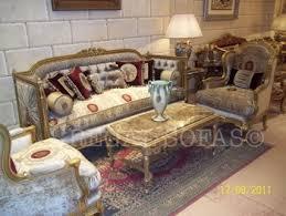 velvet maroon cream ivory sofa couch suite salon set living room
