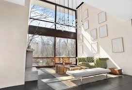 Pendant Lights For Living Room Contemporary Living Room With Limestone Floors By The Corcoran