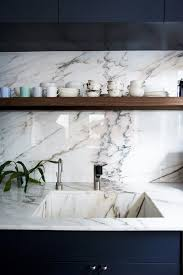 Marble Kitchen Countertops by Countertops Grande Farmhouse Kitchen White Marble Countertop