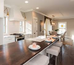 Kitchen Interior Paint Newly Built Home With Farmhouse Inspired Interiors Home Bunch