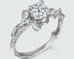 nature inspired engagement rings lotus flower engagement ring inspired by nature leaves