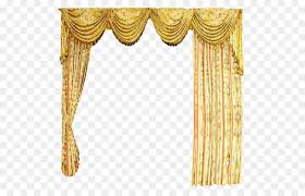 Floral Curtains Curtain Computer File Yellow Floral Curtains Png 567