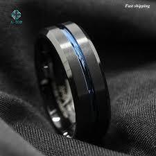 Tungsten Carbide Mens Wedding Rings by Online Shop 8mm Men U0027s Wedding Ring Tungsten Carbide Ring Black
