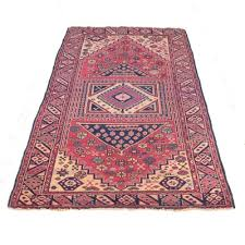 Pink Runner Rug Vintage Area Rug Auction Antique Area Rugs And Accent Rugs Ebth