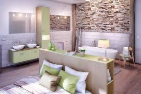 chambre salle de bain comment aménager une chambre adulte avec salle de bains archea