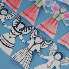 Christmas Decorations Paper Angels by 5 Homemade Christmas Decorations Paper Chains