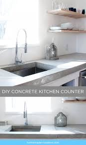 homemade modern kitchen homemade modern ep87 concrete kitchen countertops and