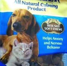 High Dog Meme - the dog and cat on this bag of treats both look high as a kite