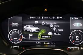 audi dashboard 2017 electronic instrument cluster wikipedia