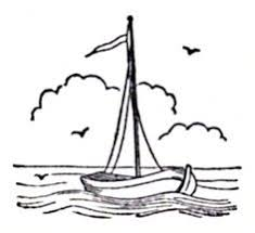 Free Printable Coloring Image 001 Sail Boat Coloring Pages