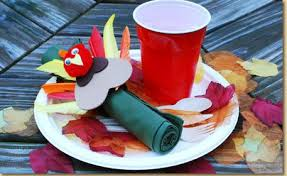 turkey napkin ring thanksgiving turkey napkin ring craft project ideas