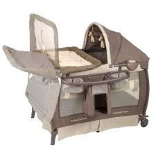 Playard With Changing Table Portable Playpen Playard Baby Play Travel Crib N Changing Table