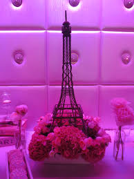 Paris Centerpieces Eiffel Tower Floral Arrangement By Butterfly Floral Design In Los