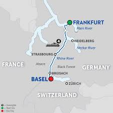 Black Forest Germany Map German River Cruises Avalon Waterways