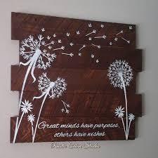 dandelion wood plaques wall 121 best dandalion images on dandelions home