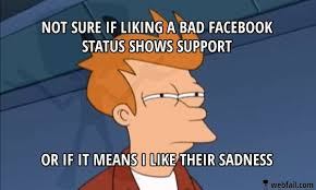 Facebook Post Meme - bad facebook status meme picture webfail fail pictures and