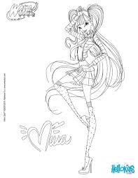 winx club musa enchantix coloring pages roxy dress harmonix