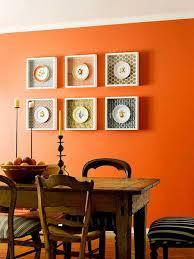 Orange Dining Rooms Reliefworkersmassagecom - Burnt orange dining room