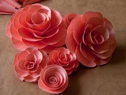 Make Flower With Paper - quilling made easy how to make small roses with paper strips