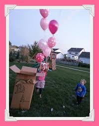 gender reveal balloons in a box it s a gender reveal ideas