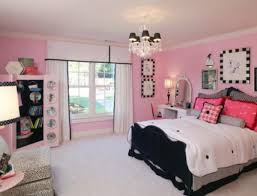 beautiful design idea for little u0027s room in pink and black