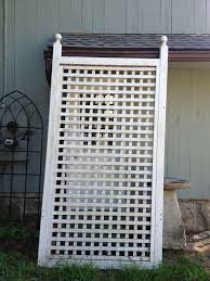 large wooden garden trellis for sale at 1stdibs