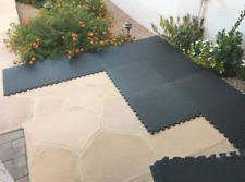 rubber tiles ebay