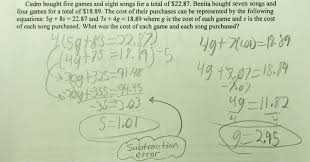 Mixture Word Problems Worksheet System Solutions Students Are Asked To Solve A Word Problem By