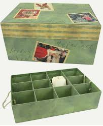 ornament storage box with dividers honey can do ornament storage