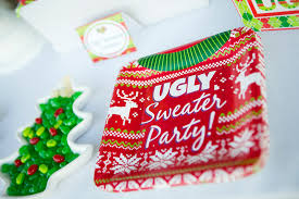 ugly sweater party free ugly sweater printables and ideas