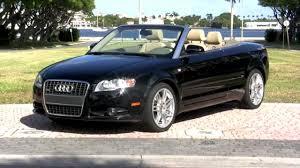 audi convertible 2009 audi a4 s line special edition cabriolet brilliant black
