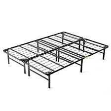 White Metal Bed Frame Queen Metal Beds And Bed Frames Ebay