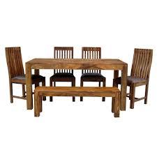 sheesham 160x90 dining table u2013 quarter solid wood furniture
