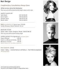 senior hair cut discounts price menu hair design christie salon co