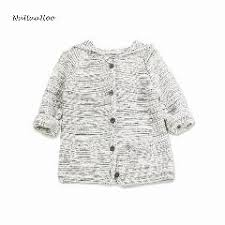 fashion children s sweaters for baby boys knitted hooded